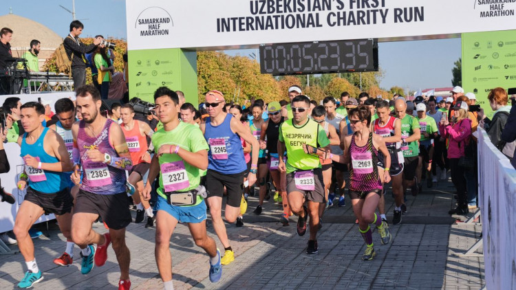Run with us! The Art and Culture Development Foundation has started registering participants for the Samarkand Half Marathon