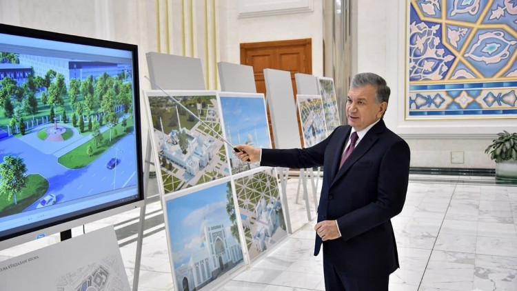 On November 19, Presint Shavkat Mirziyoyev got acquainted with the presentation of construction projects for a number of facilities across the country.